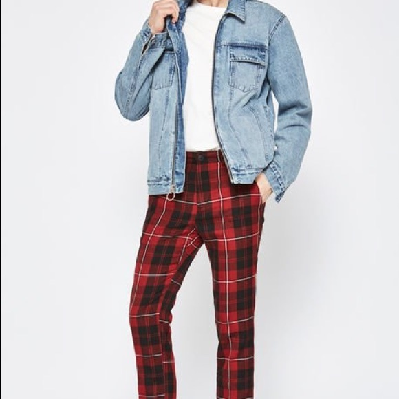 shades of shop for authentic designer fashion PacSun men's plaid chino pants
